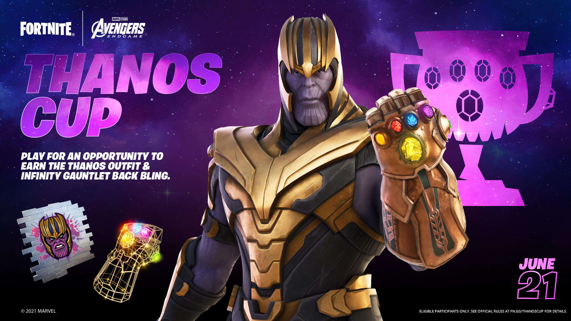How To Get Thanos Skin In Fortnite Hdn Esports